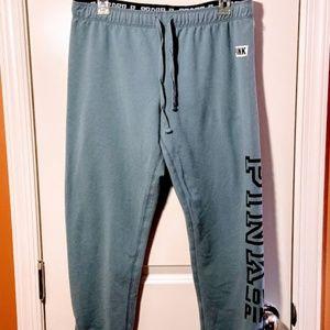 PINK Victoria's Secret Sweatpants with Ankle Zip